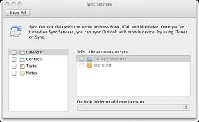 Can you sync Outlook for Mac calendar with an iPhone iPad or