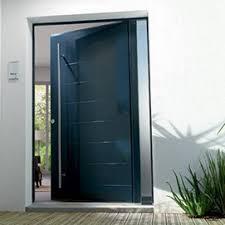 porte d entrée moderne et design en alu pvc chez prodalu