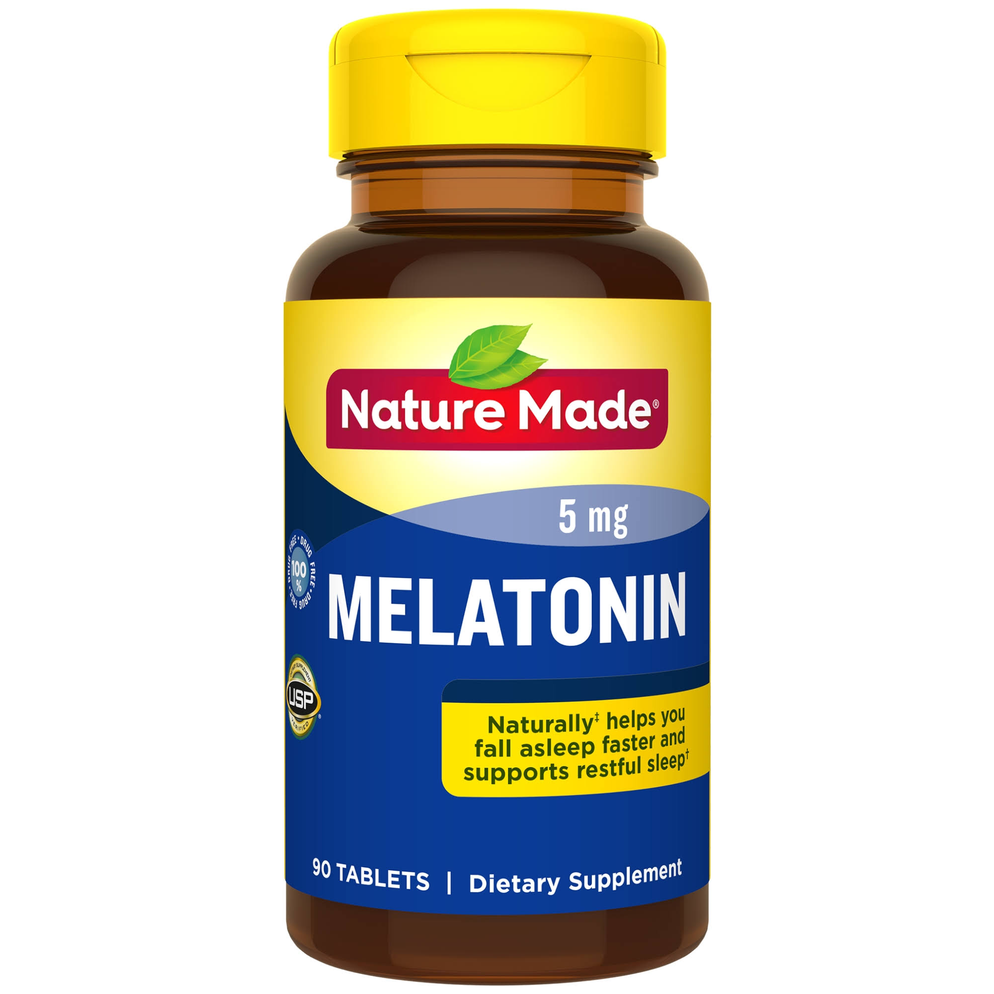 Nature Made Melatonin - 5mg, 90 Tablets