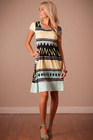 mint navy summer dress affordable modest boutique clothes for