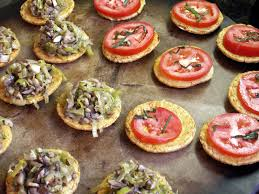 and easy canapes what s for dinner easy gluten free canape s