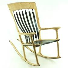 Sam Maloof Rocking Chair Plans by Custom Wooden Rocking Chair Gallery Made In Canada