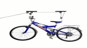 Racor Ceiling Mount Bike Lift by Rad Cycle Products Bike Lift Hoist Garage Mountain Bicycle Hoist