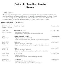 Cook Resume Examples Chef Sample Sous Restaurant