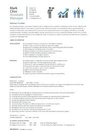 Assistant Store Manager Resume Pdf Retail Job Description Example Covering Letter Free Sample