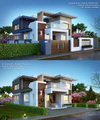 100 Modern Hiuse House Bungalow Exterior By ArSagar Morkhade Vdraw