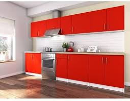 unbekannt obi komplett küche 3 m rot matt de auto