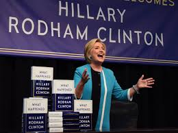 Hillary Clinton Book Signing At Barnes & Noble In Union Square ...