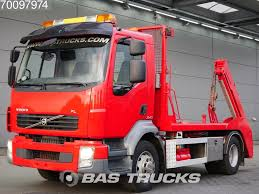 100 240 Truck VOLVO FL 4X2 JOAB Absetzkipper Skip Loader Trucks For Sale Skip