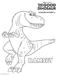 The Good Dinosaur Free Printable Coloring Sheets Games Crafts