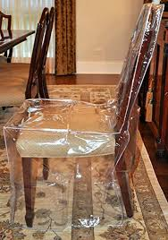 Plastic Seat Covers For Dining Room Chairs Elegant Amazon Laminet All Over Chair Cover