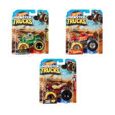100 Monster Truck Adventures Hot Wheels 164 Assorted Kmart