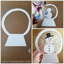Heres A Fun And Easy Winter Craft For The Kiddos To Make They Look Awesome Hanging Up In Window You Can Also Use Sequins Decorate Instead Of