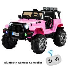 100 Kids Electric Truck 12V Battery Ride On Car Toys LED MP3 W Remote