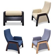 100 Rocking Chair With Pouf Glider Rocking Chair BALANCE 1 Veneer With Moving Stool Pouf For