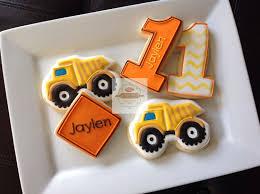 100 Dump Truck Cookies 2 Dozen Construction Cookies THEME Transportation