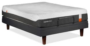 bedroom adjustable bed and mattress sets king size tempurpedic