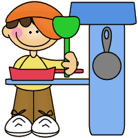 Dramatic Play Kitchen Clipart