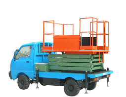 100 Truck Mounted Boom Lift 11m Ing Height Scissor With 450Kg