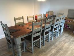 Large Dining Room Tables Seats 12 Beautiful Amazing 10 Seater Extending Table Dazzling