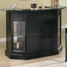 The Dining Room Inwood West Virginia by Black Finish Modern Bar Unit W Wine Rack U0026 Stemware Storage