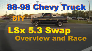 100 Chevy Truck Parts Catalog Free 8898 53 LS Swap Overview Richard Wileys OBS