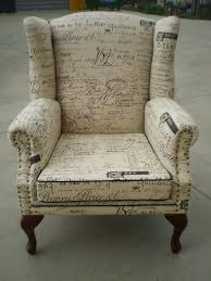French Script Chair Canada by Jaro Upholstery U0027s Wing Chair Upholstered In Warwick U0027s Popular