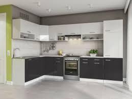 küche l form 327x167 cm hochglanz küchenzeile küchenblock komplettküche