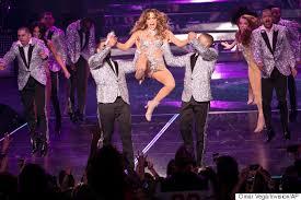 Jennifer Lopez Suffers Major Wardrobe Malfunction After Splitting