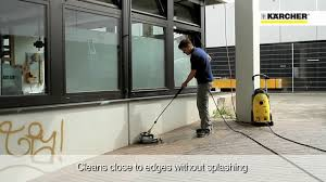 Karcher Floor Scrubber Attachment by Close Up Of The Karcher Fr 30 Me Hard Surface Youtube