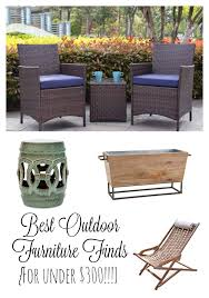 Patio Furniture Under 300 by Best Outdoor Furniture And Accents For Under 300 Re Fabbed