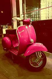 Hot Pink Vespa