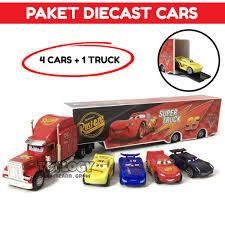 Obral Cars Lightning McQueen And Mack Truck - Obral.co