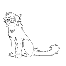 Online Printable Warrior Cats Coloring Pages For Kids