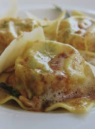Pumpkin Ravioli Sage Butter Sauce by Curtis Stone Homemade Ravioli Of Pumpkin And Parmesan With