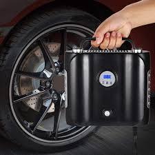 100 Balls On Trucks Premium 12V DC Tire Inflator Portable Digital Tire Pump For Cars