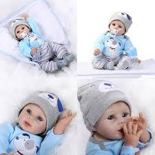 Vinyl Silicone DIY Reborn Baby Doll Accessories Lifelik Reborn Baby Dolls Full Silicone