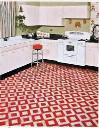 Unique Designer Linoleum Flooring 1950 Patterns This Would Be Time Consuming But You
