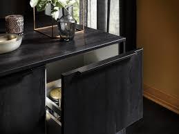 design einbauküche classica 1260 schwarzstahl küchenquelle