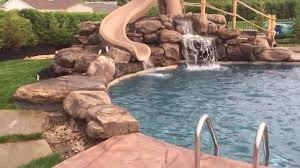 Custom Gunite Pool W/Rock Waterfall/Grotto - YouTube Stunning Cave Pool Grotto Design Ideas Youtube Backyard Designs With Slides Drhouse My New Waterfall And Grotto Getting Grounded Charlotte Waterfalls Water Grottos In Nc About Pools Swimming Latest Modern House That Best 20 On Pinterest Showroom Katy Builder Houston Lagoon By Lucas Lagoons Style Custom With Natural Stone Polynesian Photo Gallery Oasis Faux Rock 40 Slide