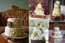 5 Rustic Wedding Cake Ideas