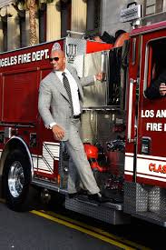 100 Fire Truck Movie The Rock On A Fire Truck It Had To Happen Sometime Man Cake