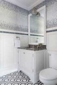 ombre tiles contemporary bathroom