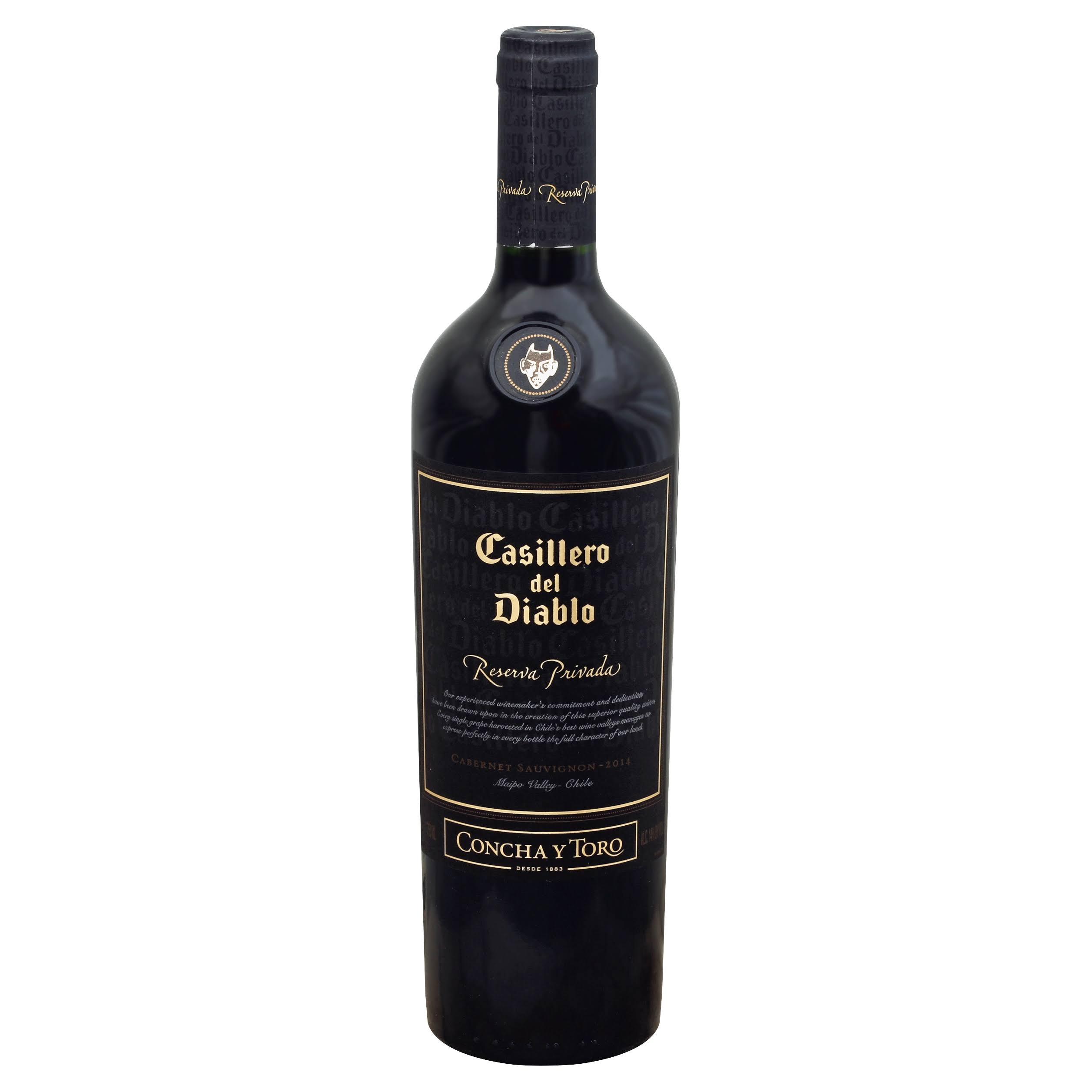 Concha Y Toro Casillero Del Diablo Reserva Privada, South America (Vintage Varies) - 750 ml bottle