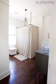 shower curtains made from burlap silk and more ceiling tubs