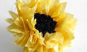 Follow The Steps For Basic Bloom But Add Two Sheets Of Black Tissue Paper Onto Top Your Stack So You Have Seven Total