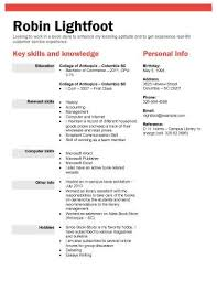 Book Or Retail Store Position Sample Resumes For College