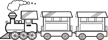 Click The Train With Two Carriages Coloring Pages To View Printable Version Or Color It Online Compatible IPad And Android Tablets