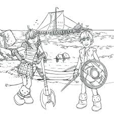 Astounding How To Train Your Dragon Coloring Pages Print Kids Cartoon Viking And Hiccup Printable Pictures