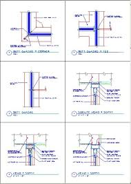 Kawneer Curtain Wall Cad Details by Aluminum Window Aluminum Window Jamb Cad Details